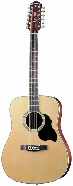 Crafter MD 50-12/N 12 String Acoustic guitar, Dreadnought, Spruce top, Natural color