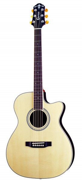 Crafter TV 300CEQ/NV Solid ES top, Solid Rosewood B & S, Herringbone Inlay, LR-T CV (LCD Tuner) PreAmp & L.R.Baggs P/U, T Brace