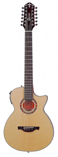 Crafter CTS 150-12/N 12 String Acoustic guitar, solid Sitka spruce, CTS brace, LR-F Plus PreAmp & L.R.Baggs pickup
