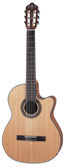 Crafter LITE-CE SP/N Budget Solid Spruce top, Natural, Classic, CR-T Plus & Cable Pick-up