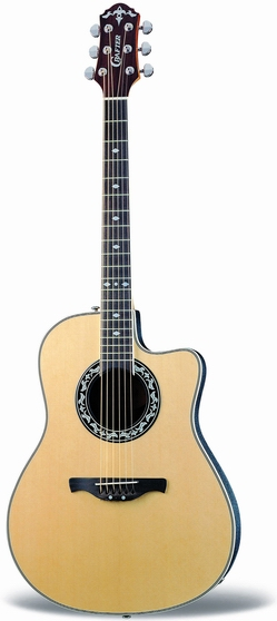 Crafter FSG 250EQ/N FA-back, Spruce top, TP-F PreAmp & Cable Pick-up