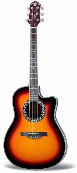 Crafter FSG 250EQ/TS FA-back, Spruce top, TP-F PreAmp & Cable Pick-up