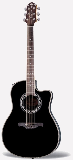 Crafter FSG 260EQ/BK FA-back, Spruce top, TP-F PreAmp & Cable Pick-up